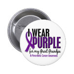 I Wear Purple Great Grandpa 10 Pancreatic Cancer