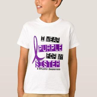 I Wear Purple Sister Epilepsy T-Shirt