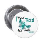 I Wear Teal For ME 45 Ovarian Cancer