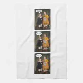 I wear the Pants - Funny Gay Couple Kitchen Towel