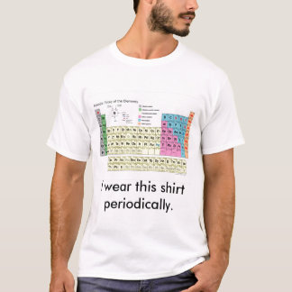 I wear this shirt periodically.