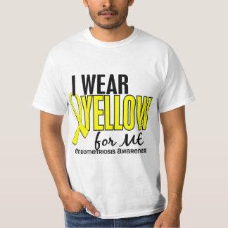 I Wear Yellow For Me 10 Endometriosis T Shirt