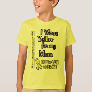 I Wear Yellow for...Mom T-Shirt