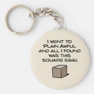 I Went To Plain Awful ... Keychain