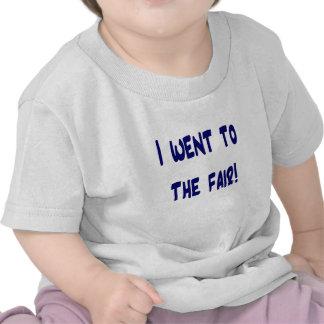 I went to the fair! Solid blue version Fair swag Tee Shirt