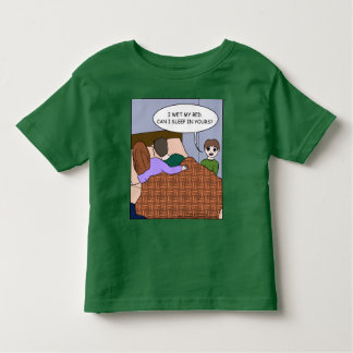I wet my bed... toddler t-shirt