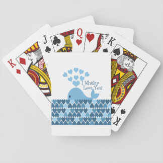 I whaley love you playing cards