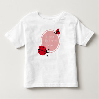 I will be big sister soon toddler t-shirt