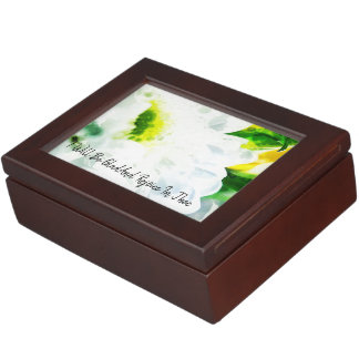 I Will Be Glad And Rejoice In Thee Keepsake Box