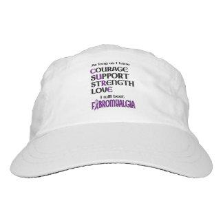 I will beat Fibro Headsweats Hat