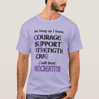 I Will Beat Pancreatitis T-Shirt