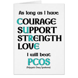 I will beat PCOS Card