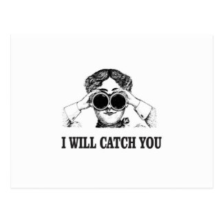 i will catch you yeah postcard