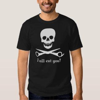 I will cut you_2011_WHT1 T Shirts