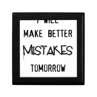 i will make better mistakes tomorrow gift box
