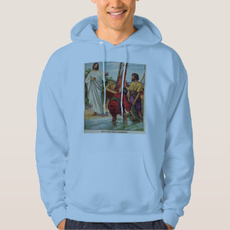 I will make you fisher of men hooded sweatshirts