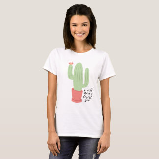 I Will Never Desert You Cactus Tee