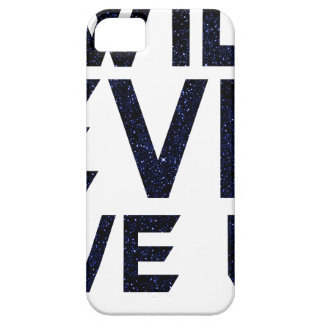 I will never give up case for the iPhone 5