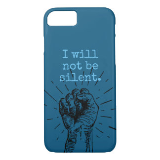I Will Not Be Silent Phone Case
