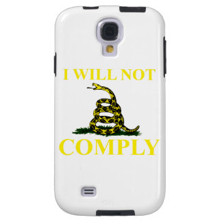 I Will Not Comply