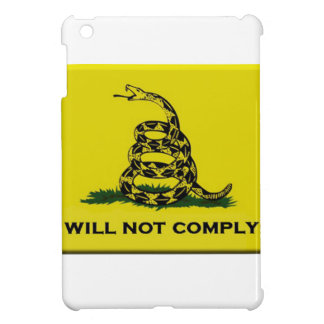 I will not comply case for the iPad mini