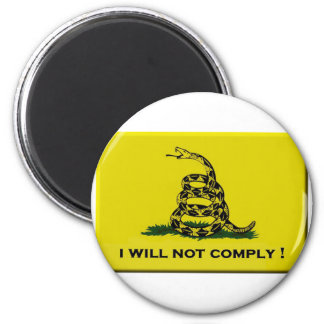 I will not comply magnet