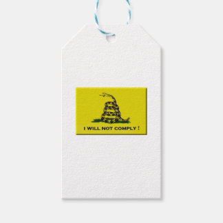 I will not comply pack of gift tags