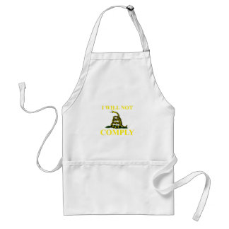 I Will Not Comply Standard Apron