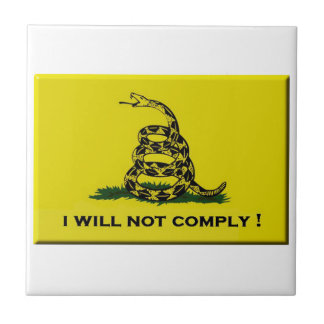 I will not comply tiles
