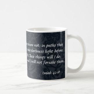 """""""I will not forsake them"""" Mug"""