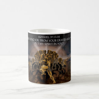 I Will Put My Spirit In You - Ezekiel Warrior Mug