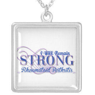 I will remain strong Rheumatoid Arthritis Necklace