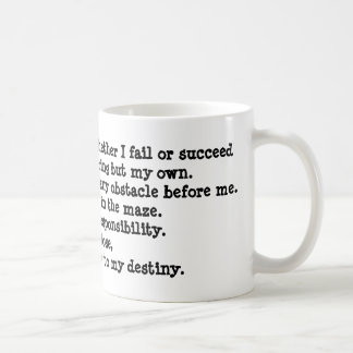 I Will Shape My Future Mug