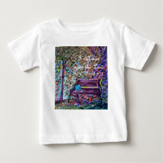 I Will Wait Upon the Lord Baby T-Shirt