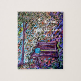 I Will Wait Upon the Lord Jigsaw Puzzle