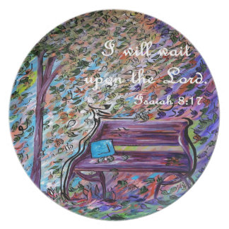 I Will Wait Upon the Lord Plate