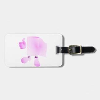 I wipe your father luggage tag