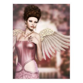 I wish I had an angel... Postcard