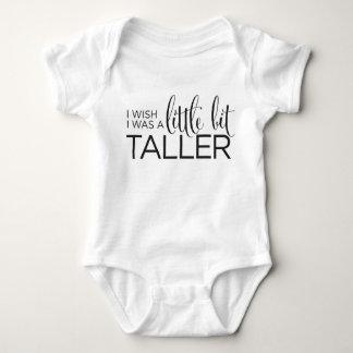I Wish I Was A Little Bit Taller Tshirts
