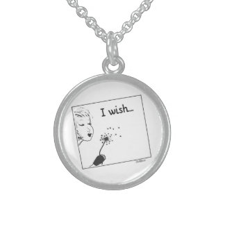 I Wish... Sterling Silver Necklace