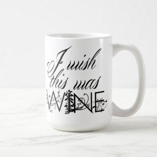 I Wish This Was Wine Coffee Mug
