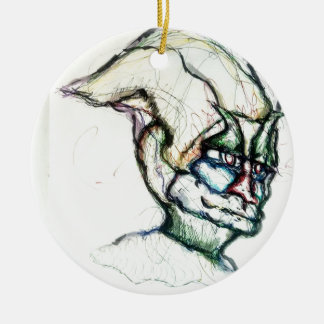 I wish you knew how much I love you the ambient Ceramic Ornament