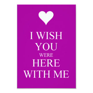 I WISH YOU WERE HERE WITH ME SAD QUOTES MISSING YO PERSONALIZED ANNOUNCEMENT