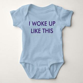 I woke up like this (Baby one-sie) Baby Bodysuit