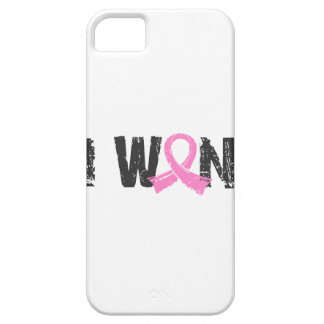 I Won Breast Cancer iPhone 5 Cases