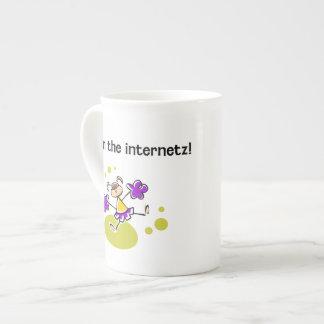 I won the internetz! bone china mug