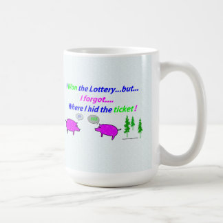 I won the Lottery Mug (but hid the ticket).