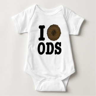 I Wood Cookie ODS Baby Bodysuit