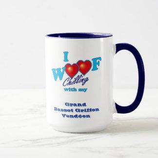 I Woof Grand Basset Griffon Vendeen Mug