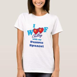 I Woof Sussex Spaniel T-Shirt